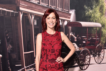 Carrie Preston Premiere of HBO's 'Westworld' - Red Carpet