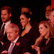 Carrie Symonds The Queen And Members Of The Royal Family Attend The Royal British Legion Festival Of Remembrance