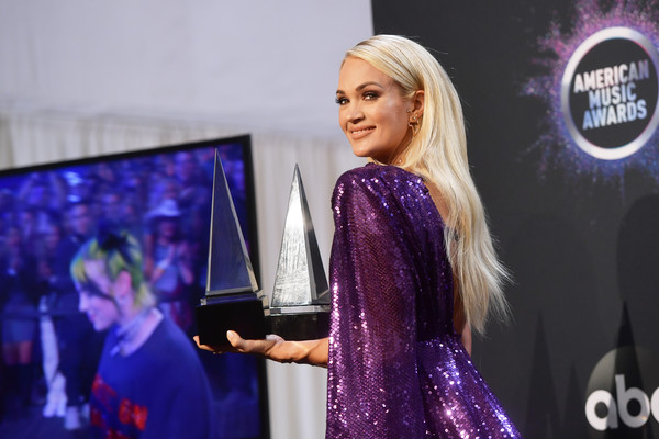 2019 American Music Awards - Press Room
