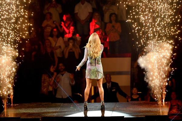 Carrie Underwood With Maddie & Tae And Runway June In Concert - New York, NY