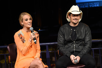 Carrie Underwood All For The Hall New York Benefit Concert - Press Conference