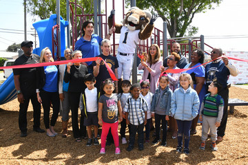 Carter Oosterhouse Carter's Kids Playground Build And Ribbon-Cutting Ceremony