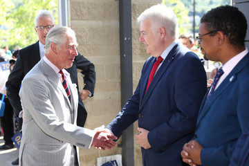 Carwyn Jones The Prince Of Wales And Duchess Of Cornwall Visit Wales