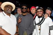 "(L-R) Cedric the Entertainer, Will.i.am, Taboo, and Apl.de.ap at Casamigos Presents Sports Illustrated ""The Party"" at Fontainebleau Hotel on February 01, 2020 in Miami Beach, Florida."