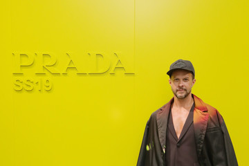 Casey Spooner Prada Spring/Summer 2019 Womenswear Fashion Show – Arrivals and Front Row