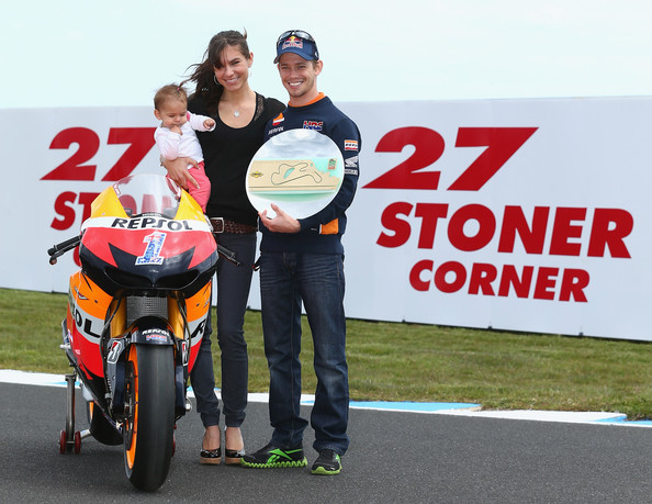 Casey Stoner And Alessandra Maria Photos