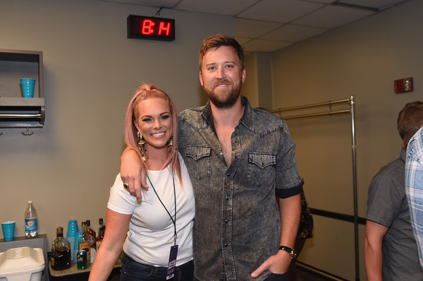 2018 CMT Music Awards - Backstage & Audience [fun,event,party,shoulder,room,muscle,vacation,t-shirt,games,cmt music awards,backstage,backstage audience,nashville,tennessee,bridgestone arena,audience,cassie mcconnell,charles kelley]