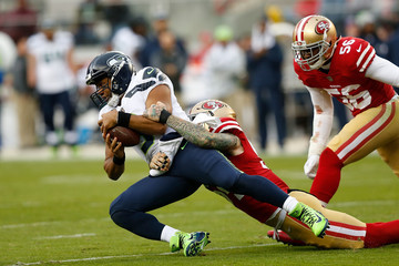Cassius Marsh Seattle Seahawks v San Francisco 49ers