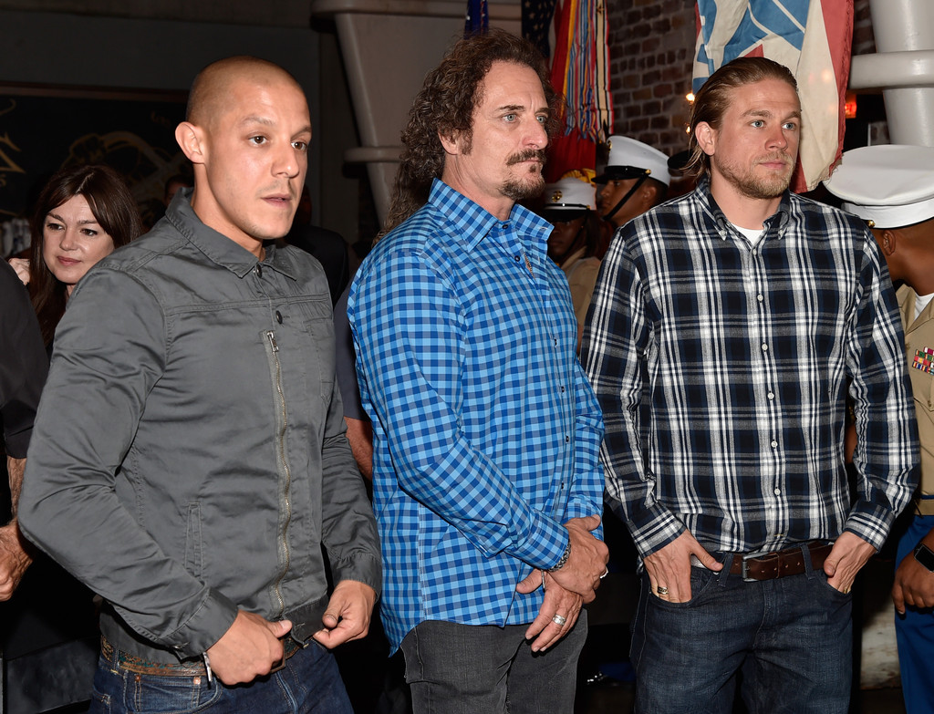 Kim Coates in 'Sons of Anarchy' Cast Hosts a Boot Bash ...