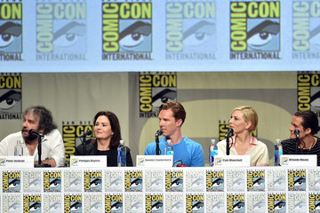 Cate Blanchett Philippa Boyens Legendary Pictures Preview And Panel - Comic-Con International 2014