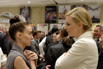 Cate Blanchett Rooney Mara 16th Annual AFI Awards - Cocktail Reception