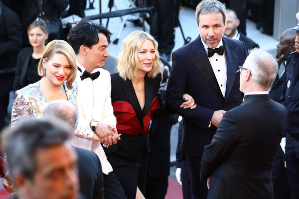 Closing Ceremony And 'The Man Who Killed Don Quixote' Red Carpet Arrivals - The 71st Annual Cannes Film Festival [the man who killed don quixote,event,premiere,fashion,carpet,flooring,red carpet,suit,white-collar worker,dress,ceremony,red carpet arrivals,cate blanchett,denis villeneuve,thierry fremaux,jury members,lea seydoux,jury,closing ceremony,cannes film festival]