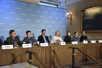 Cate Blanchett Todd Haynes 'Carol' New York Press Conference