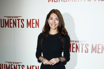 Caterina Murino 'The Monuments Men' Premieres in Paris
