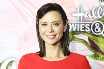 Catherine Bell Hallmark Channel and Hallmark Movies and Mysteries Winter 2018 TCA Press Tour - Arrivals
