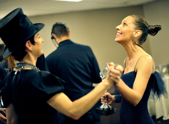 Catherine Marie Thomas - 12th Annual Costume Designers Guild Awards - Backstage