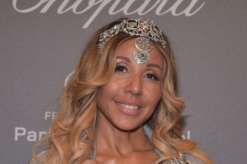 Cathy Guetta Chopard Space Party - Photocall - The 70th Cannes Film Festival