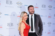 Kristina Rhianoff and Ben Cohen attend The Caudwell Children Butterfly Ball at Grosvenor House, on June 14, 2018 in London, England.