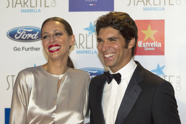 Guests Attend the Starlite Gala in Marbella [event,smile,award,premiere,white-collar worker,suit,carpet,cayetano rivera,eva gonzalez,starlite gala,marbella,spain]