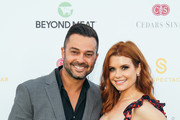 Nick Swisher and Joanna Garcia attend the Cedars-Sinai and Sports Spectacular's 34th Annual Gala at The Compound on July 15, 2019 in Inglewood, California.