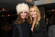 Trinny Woodall and Melissa Odabash attend the London Launch of Beauty and Wellness APP PRIV at The Belgraves Hotel at Belgraves Hotel on January 29, 2015 in London, England.