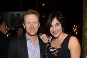 """Actor Kevin Mckidd and """"Brave"""" producer Katherine Sarafian attend a celebration of the Oscar nominated films """"Brave"""" and """"Wreck it Ralph"""" at The Edison on February 23, 2013 in Los Angeles, California."""