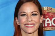 """Actress Amy Paffrath attends a celebration of the Los Angeles engagement of """"On Your Feet!"""", the Emilio and Gloria Estefan Broadway musical, at the Pantages Theatre on July 10, 2018 in Hollywood, California."""