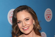 "Rachel Boston attends The VIP opening night of the life-sized gingerbread house in celebration of ""It's A Wonderful Lifetime"" at The Grove on November 14, 2018 in Los Angeles, California."
