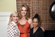 Maddie Hasson, Missi Pyle and Liza Koshy attend a Celebration of YouTube Originals at Chateau Marmont on November 13, 2018 in Los Angeles, California.