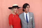 Nacho Figueras and Delfina Blaquier poses at the Magic Millions Raceday at the Gold Coast Turf Club on January 12, 2019 in Gold Coast, Australia.
