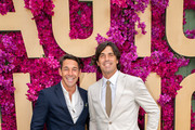 Billy Slater and Nacho Figueras attend the Moet Marquee Magic Millions Raceday at the Gold Coast Turf Club on January 11, 2020 in Gold Coast, Australia.