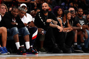 Carlos Boozer attends the BIG3 Championship at the Barclays Center on August 24, 2018 in Brooklyn, New York.