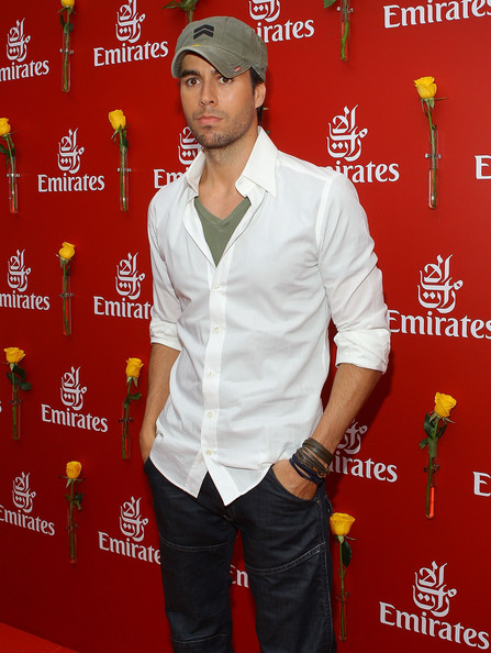Enrique+Iglesias in Celebrities Attend Emirates Melbourne Cup Day