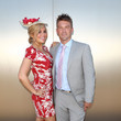 Jess Sinclair Celebrities Attend Emirates Stakes Day