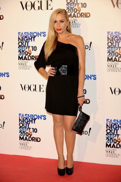 Marta Sanchez In Celebrities Attend Fashions Night Out In