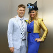 Jess Sinclair Celebrities Attend Melbourne Cup Day
