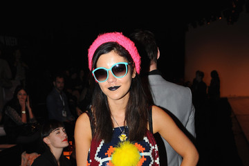 Marina Diamandis Celebrities On The Front Row: Day Five - LFW Spring/Summer 2011
