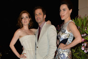 Amy Adams, Zack Snyder, Antje Traue attend the Lancia Cafe during the Taormina Filmfest 2013 on June 15, 2013 in Taormina, Italy.