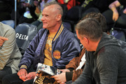 Musician Flea attends a basketball game between the Los Angeles Lakers and the Memphis Grizzlies at Staples Center on December 27, 2017 in Los Angeles, California.