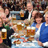 Horst Seehofer Karin Seehofer Photos - Horst Seehofer, Karin Seehofer, Petra Reiter and Dieter Reiter during the Oktoberfest 2015 Opening at Schottenhamel beer tent on September 19, 2015 in Munich, Germany. - Celebrities Hang out at Oktoberfest 2015 - Day 1
