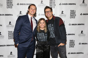 .Andrew East, Shawn Johnson East, and Bobby Bones attends Celebrities Rock #ThisShowSavesLives For St. Jude on November 26, 2018 in Nashville, Tennessee.