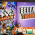 "Karla Martinez and Bella Thorne are seen on  the setof Univisions ""despierta America"" in support of the film ""Ratchet & Clank"" at Univision Headquarters on April 7, 2016 in Miami, Florida."