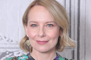 """Amy Ryan visits Build to discuss the film """"Lost Girls"""" at Build Studio on March 02, 2020 in New York City."""