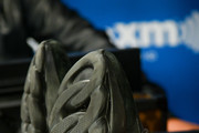 Rapper 2 Chainz (shoe detail) visits 'Sway in the Morning' with Sway Calloway on Eminem's Shade 45 at SiriusXM Studios on February 27, 2019 in New York City.
