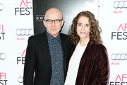 "Actor Arliss Howard (L) and actress Debra Winger attend the Centerpiece Gala Premiere of Columbia Pictures' ""Concussion"" during AFI FEST 2015 presented by Audi at the TCL Chinese Theatre on November 10, 2015 in Hollywood, California."