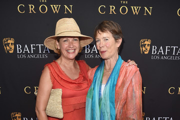 Celia Imrie Louise Chater BAFTA Los Angeles Garden Party