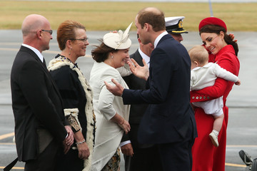 Celia Wade-Brown The Royal Family Arrives in New Zealand