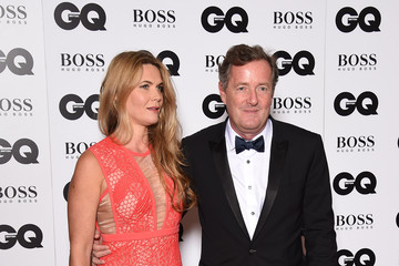 Celia Walden Guests Arrive at the GQ Men of the Year Awards