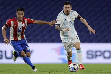 Celso Ortiz Argentina v Paraguay - South American Qualifiers for Qatar 2022