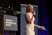 Elizabeth Banks speaks onstage during The Center for Reproductive Rights 2020 Los Angeles Benefit on February 27, 2020 in Beverly Hills, California.